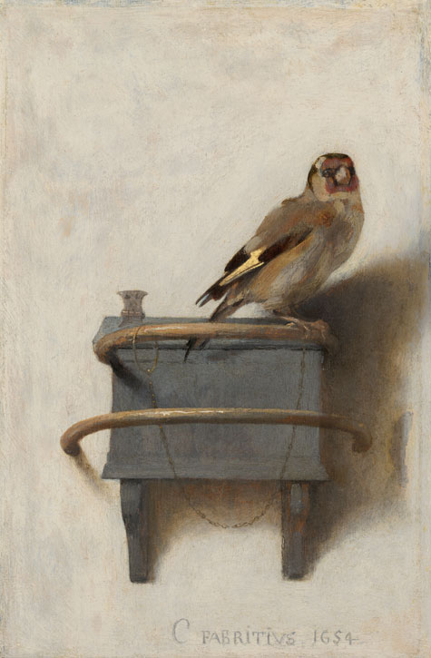 1654, oil on panel by Carel Fabritius (1622–1654)