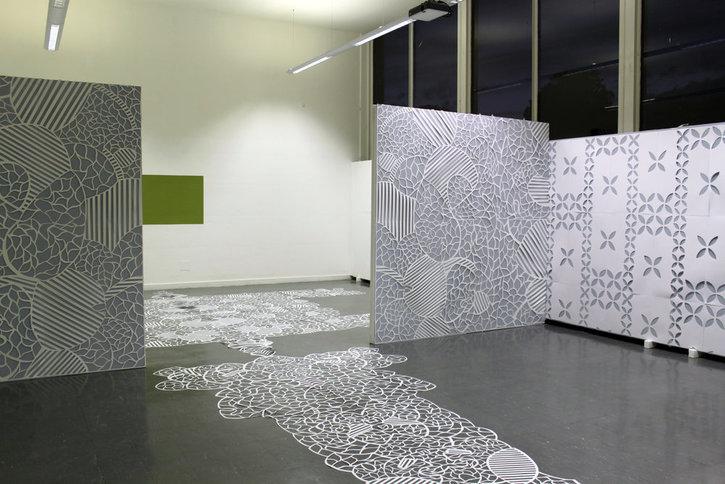 Anna Shirron's paper cut-outs