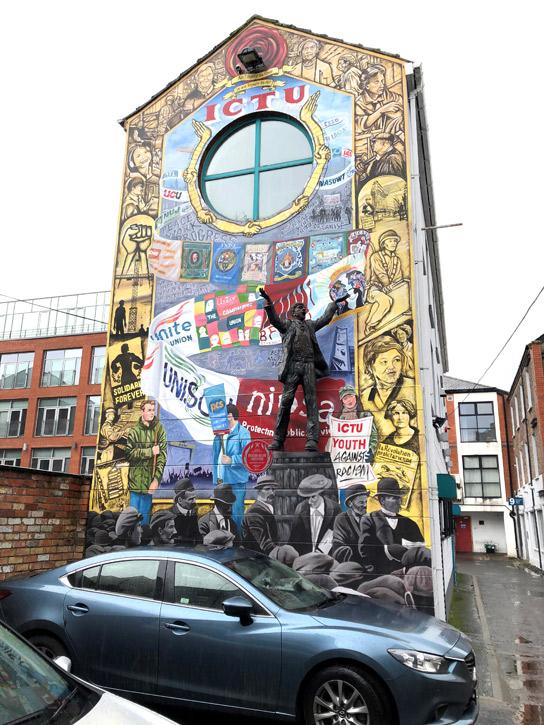 Big Jim Larkin, Donegall Street Place, Belfast