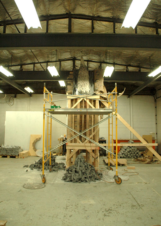 Sculpture Space Residency, Utica, NY, 2011