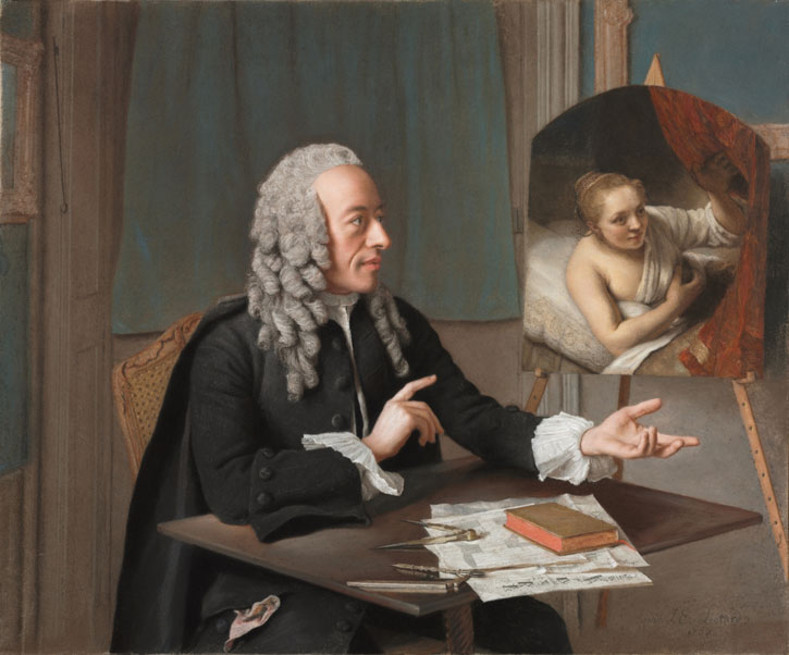 1757, pastel on parchment by Jean-Etienne Liotard (1702–1789), The Cleveland Museum of Art