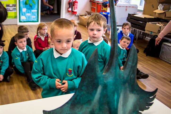 Masterpieces in Schools at Ysgol Bro Tryweryn and Ysgol Ffridd y Llyn