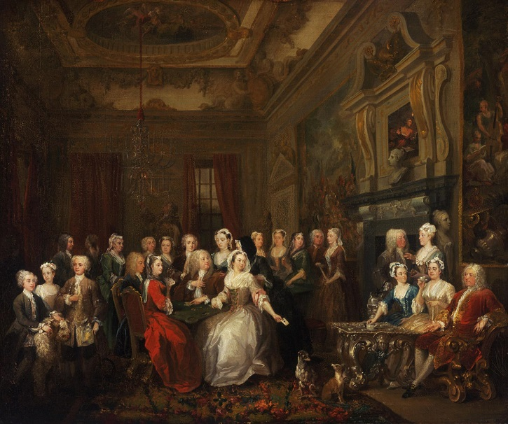 1728–1731, oil on canvas by William Hogarth (1697–1764). The John Howard McFadden Collection, 1928