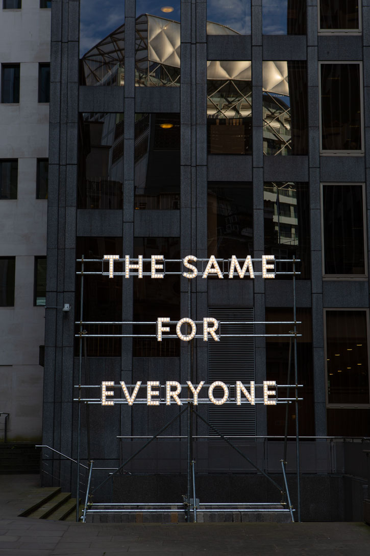 The Same for Everyone