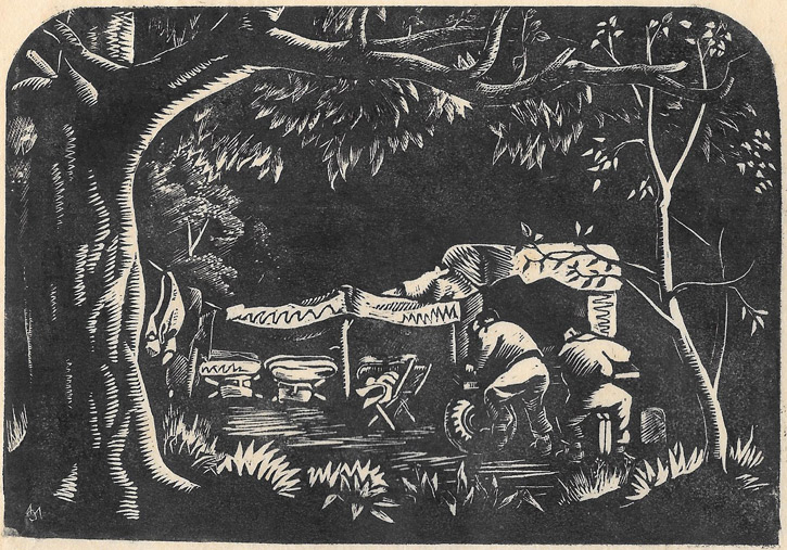 Wartime Sketch