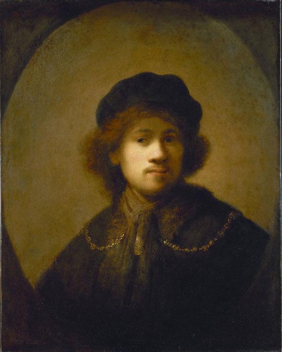 c.1630, oil on panel by Rembrandt van Rijn (1606–1669)
