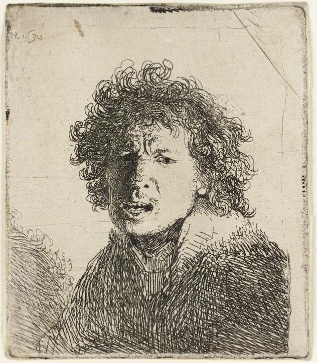 1630, etching by Rembrandt van Rijn (1606–1669)