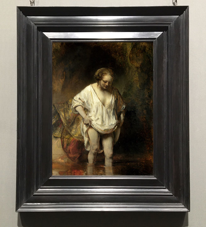 1654, oil on oak by Rembrandt van Rijn (1606–1669)