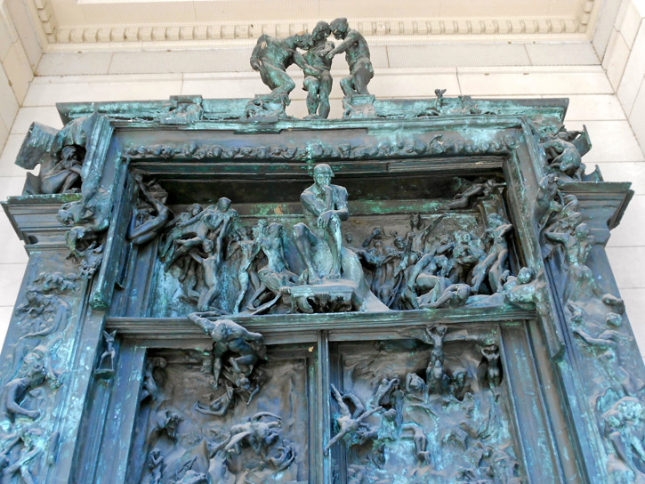 The Gates of Hell (version in Philadelphia's Rodin Museum)