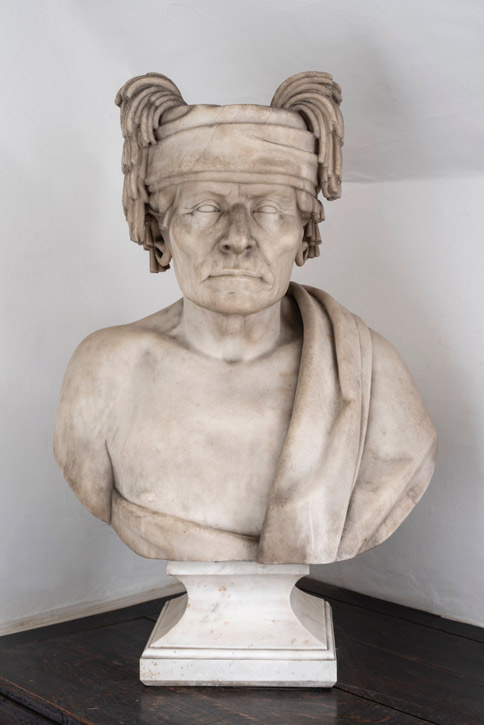 1857, marble by Francis Vincenti