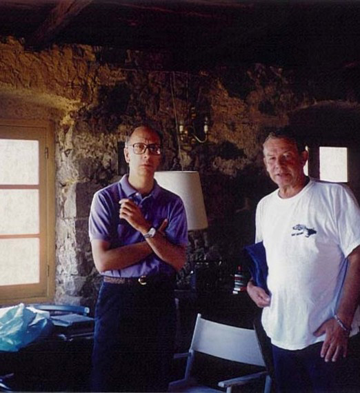 Stephen and Patrick in Corsica