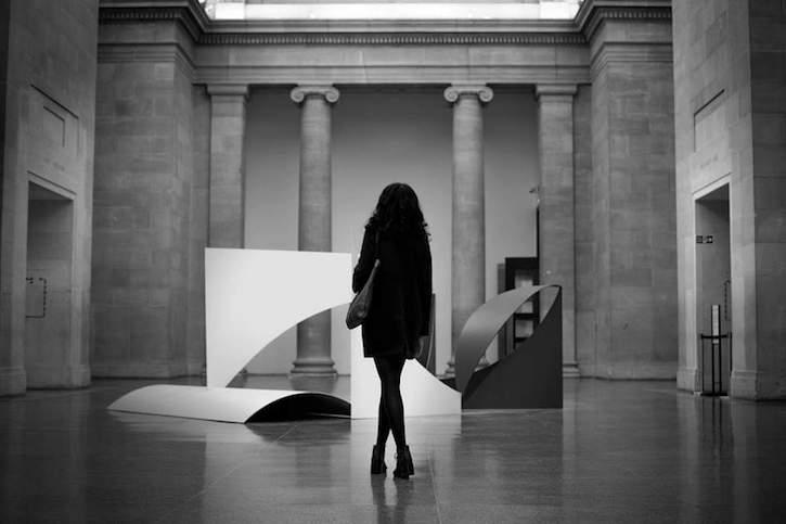 Sarah at the Tate