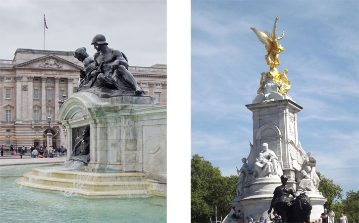 Victoria Memorial (Buckingham Palace, London)