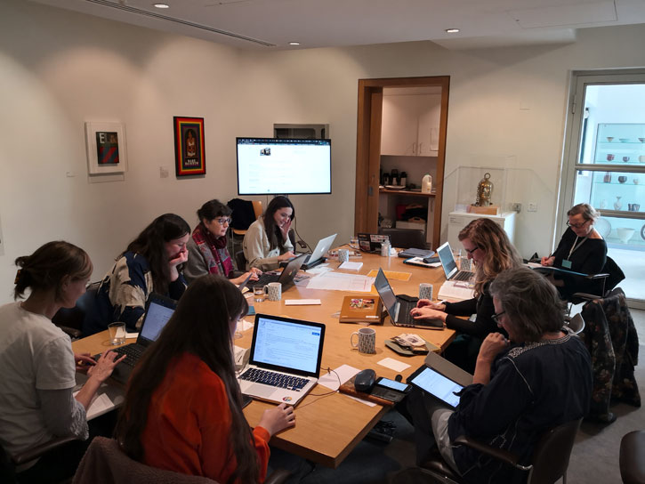 Wikipedia edit-a-thon at Pallant House Gallery