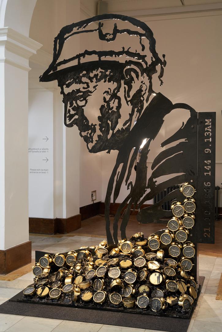 Sculpture by Nathan Wyburn