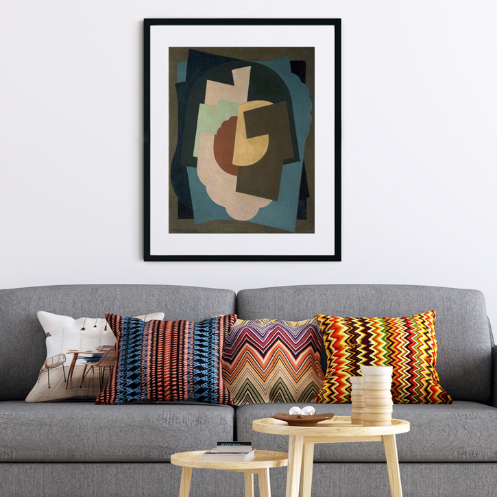 Re-energise with abstract art in your home
