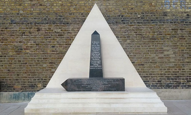 African and Caribbean War Memorial, Brixton