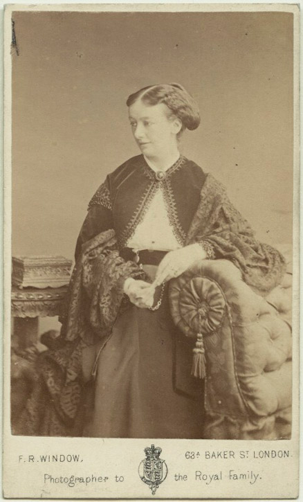 1860s, albumen carte-de-visite by Frederick Richard Window (1824–1875)