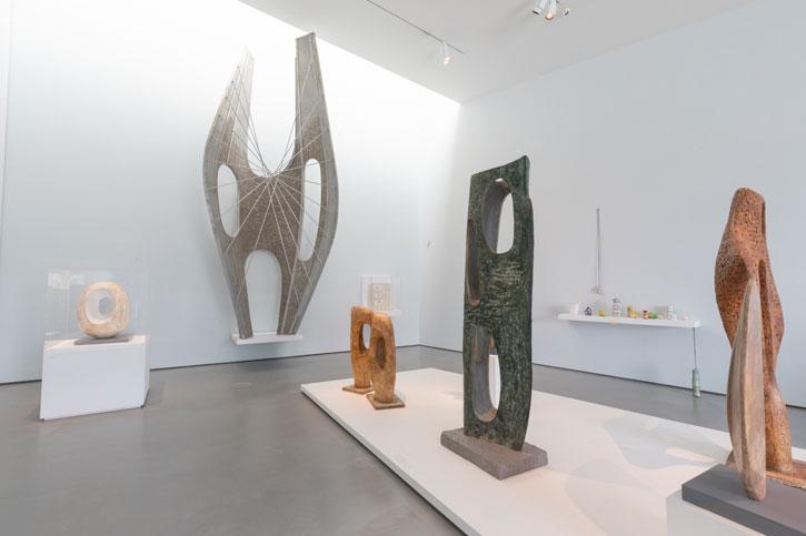 Installation image of 'Barbara Hepworth: Art & Life'