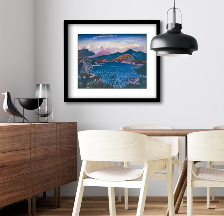 Framed print of 'Bala Lake'