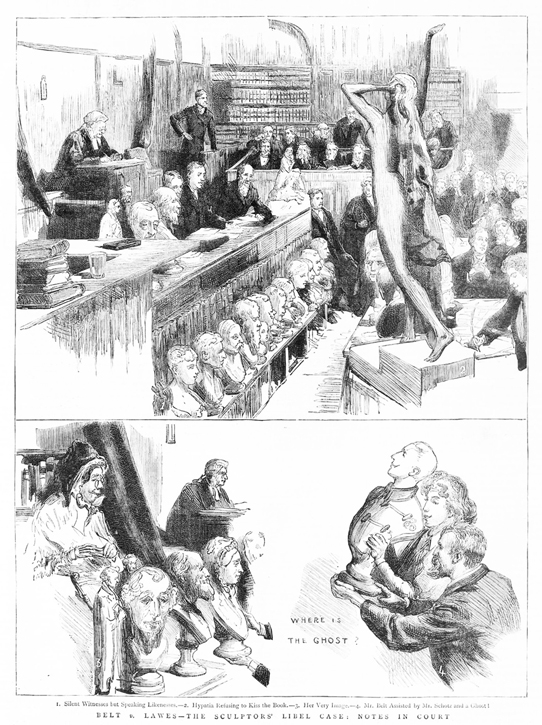 From 'The Graphic', 18th November 1882