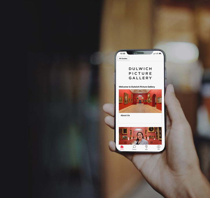 The Bloomberg Connects app at Dulwich Picture Gallery