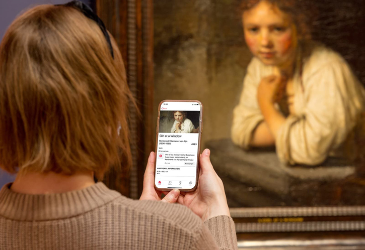 The Bloomberg Connects app and Rembrandt's 'Girl at a Window'
