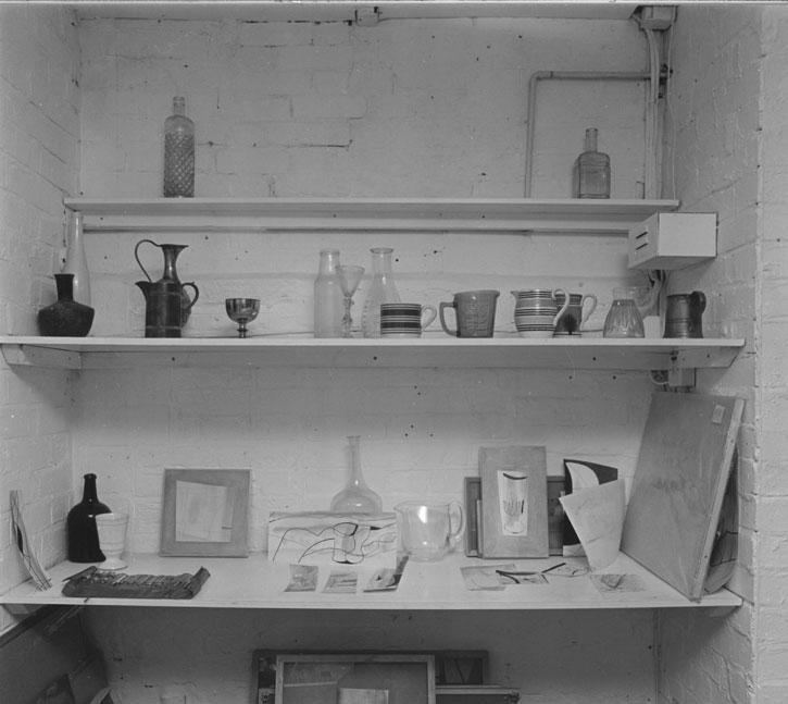 Ben Nicholson's studio, 1982