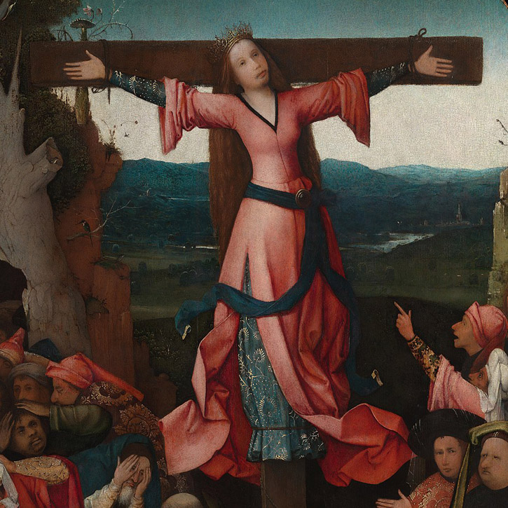 The Crucifixion of Saint Wilgefortis