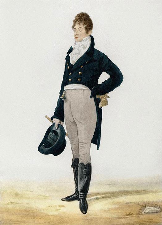 George 'Beau' Brummell (1778–1840)
