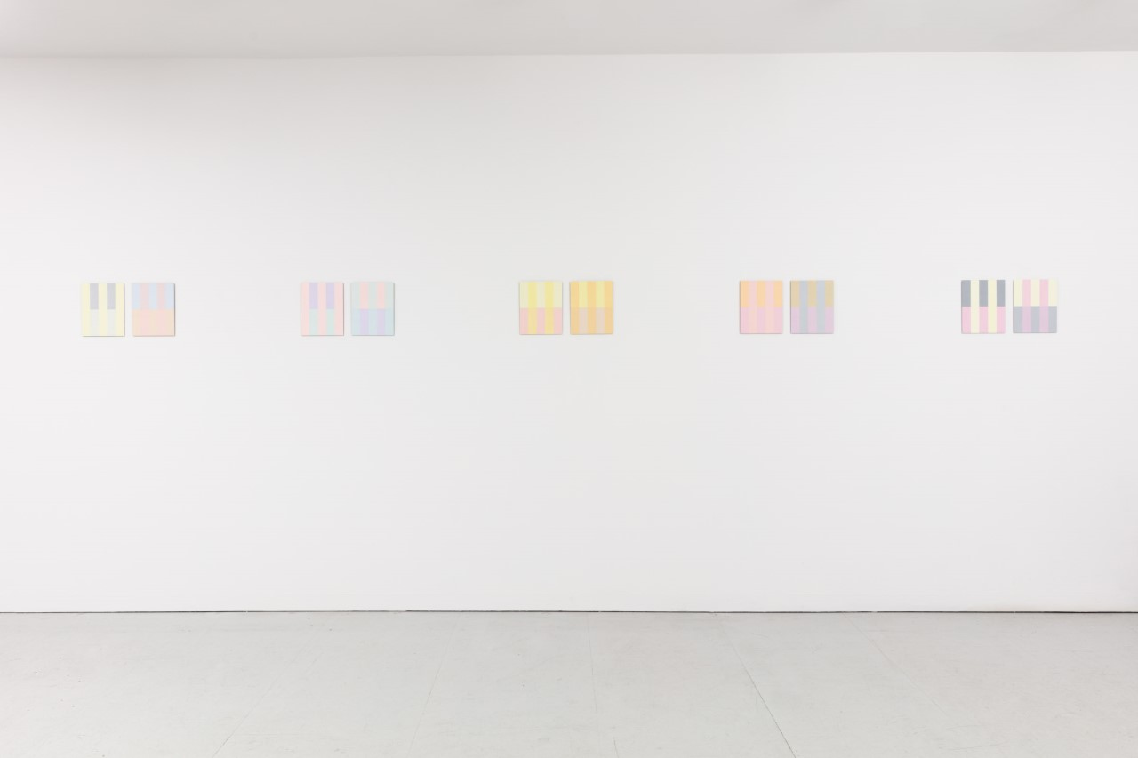 Installation view at Kate MacGarry