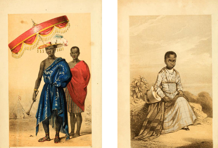Illustrations from 'Dahomey and the Dahomans'