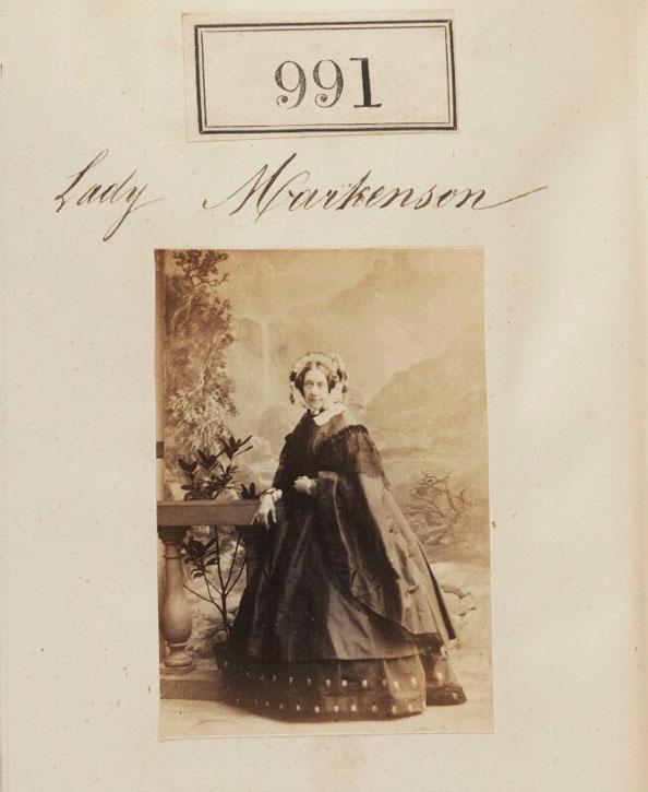 Charlotte (née Hugonin), Lady Murchison