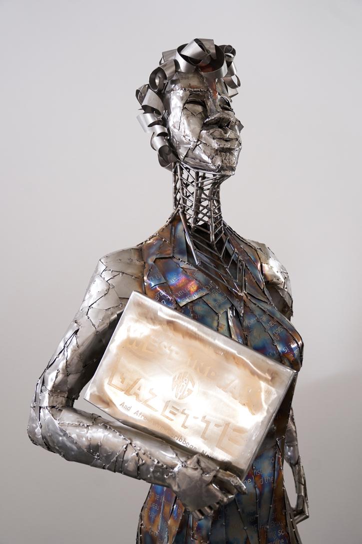 Sculpture by Favour Jonathan