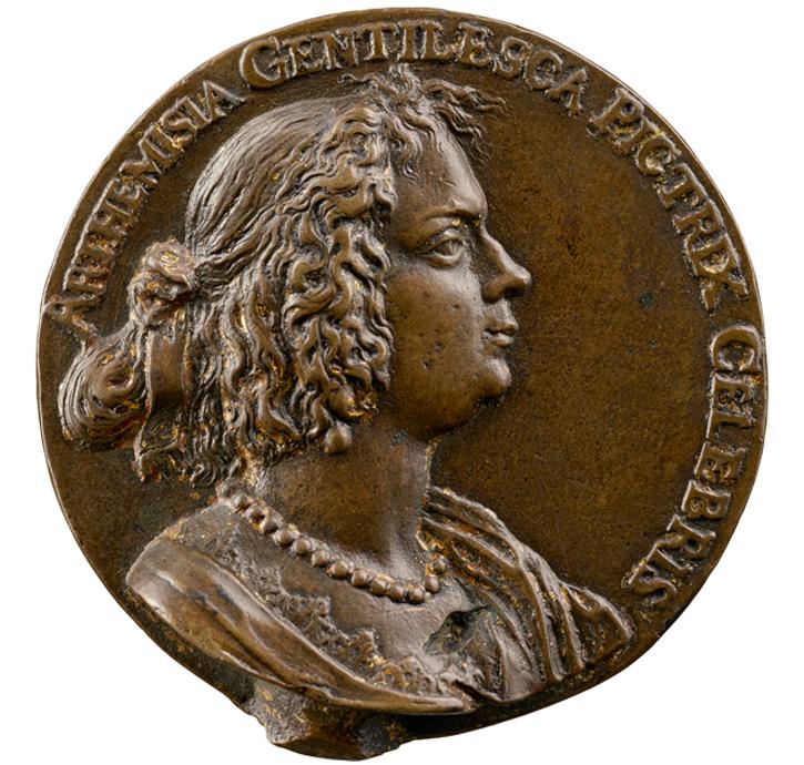 Portrait of Artemisia Gentileschi