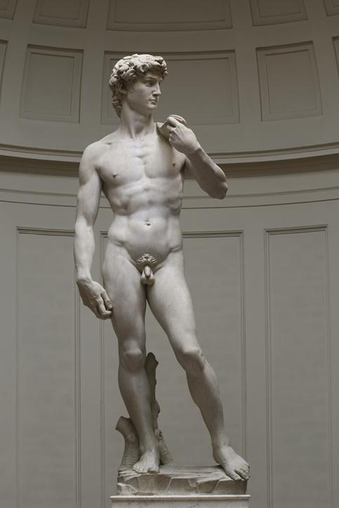 1501–1504, marble sculpture by Michelangelo (1475–1564)