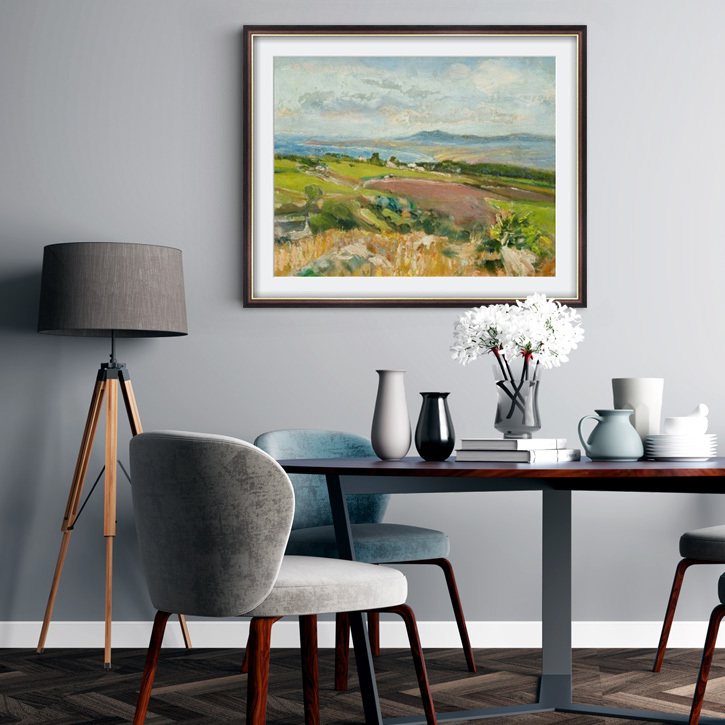 Framed print of 'St Ives Bay, Cornwall'