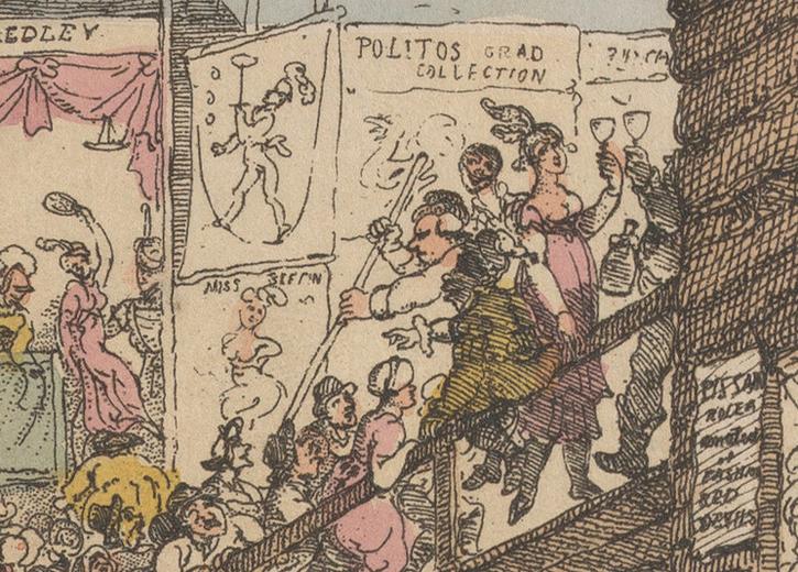 Bartholomew Fair (detail)