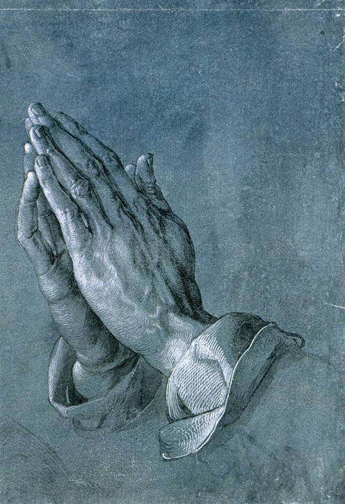Praying Hands (detail from the 'Heller' altar)