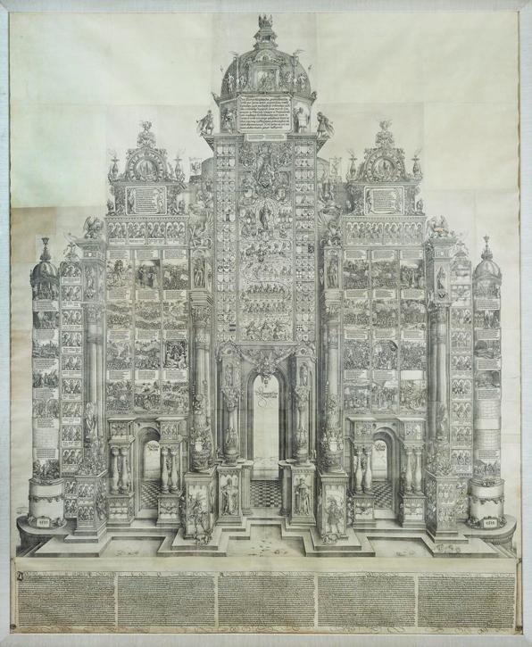 The Triumphal Arch of Maximilian I