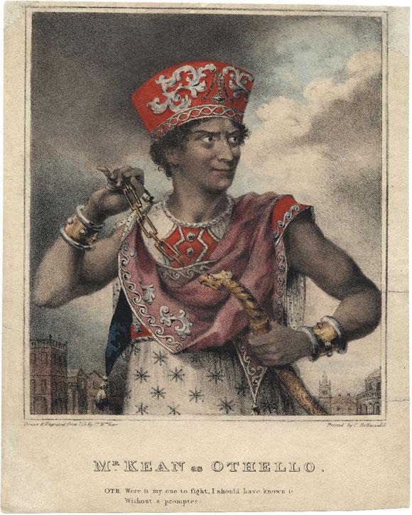 Edmund Kean as Othello