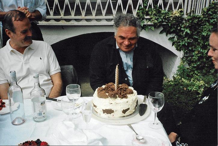 Eduardo Paolozzi's 70th birthday