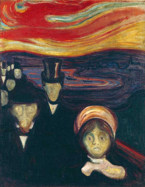 1894, oil on canvas by Edvard Munch (1863–1944)