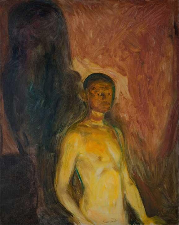 Self Portrait in Hell