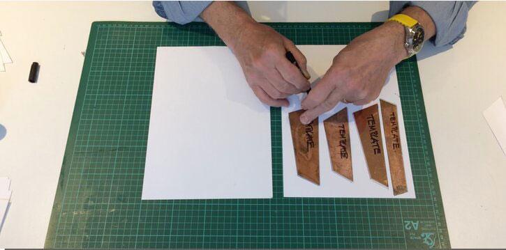 An example of Robert's templates