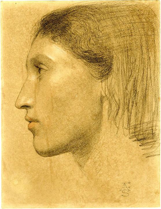 Study of Fanny Eaton
