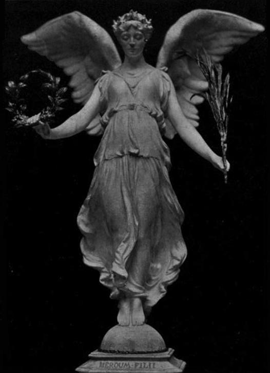 c.1907, bronze sculpture by Lilian Maud Wade (1870–1923)