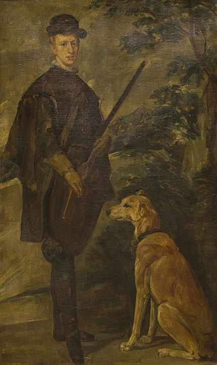 The Cardinal Infante Don Fernando as a Hunter (after Diego Velázquez)