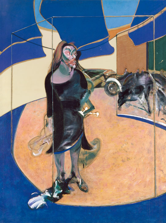 Portrait of Isabel Rawsthorne Standing in a Street in Soho