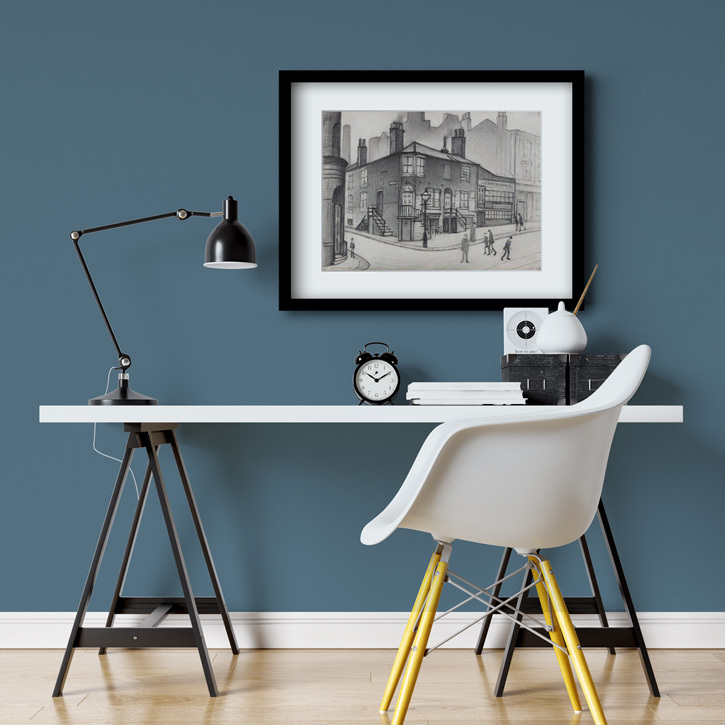 Framed print of 'Great Ancoats Street, Manchester'